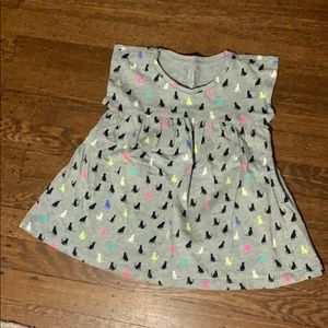 Baby GAP girls tunic with cats